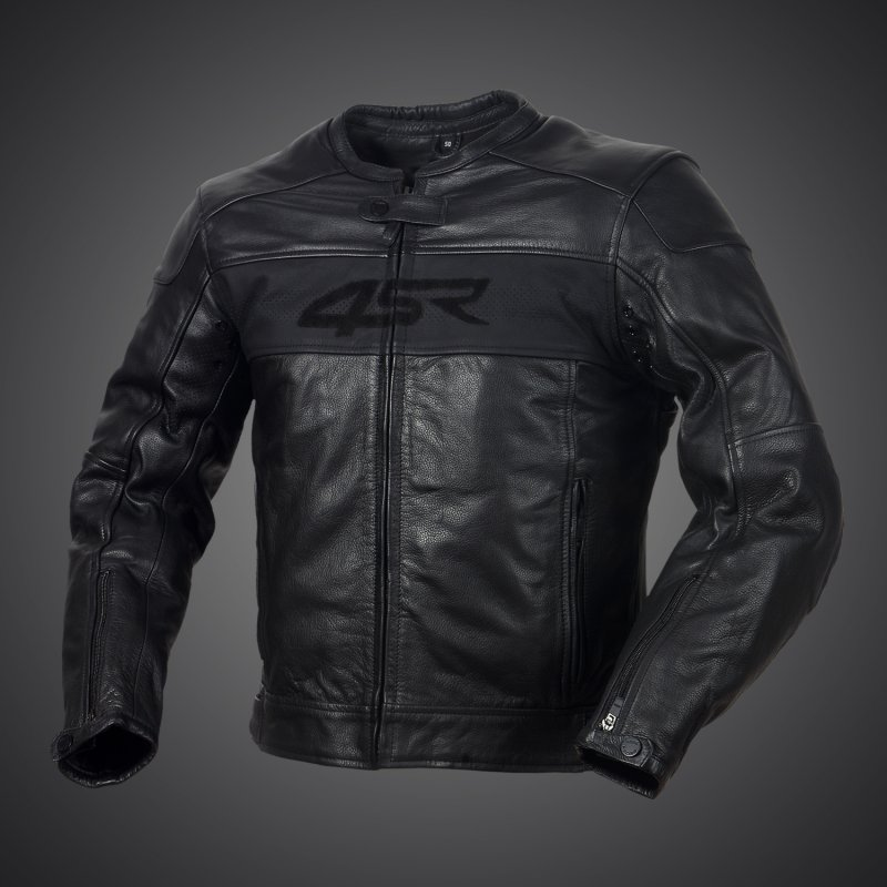 4sr motorrad lederjacke hooligan black velvet. Black Bedroom Furniture Sets. Home Design Ideas