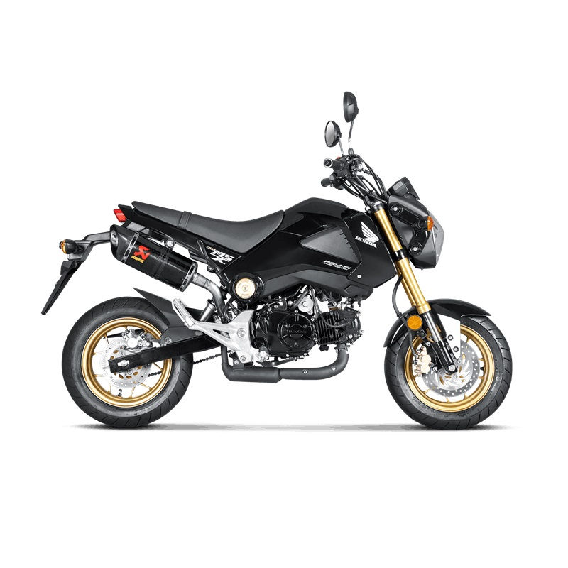 akrapovic slip on honda msx 125 grom 2013 2015 carbon. Black Bedroom Furniture Sets. Home Design Ideas