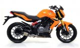Arrow Thunder Benelli BN 302, 2014-2016, Alu / Alu Dark
