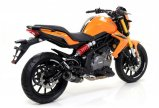 Arrow Thunder Benelli BN 302, 2014-2016, Carbon / Titan
