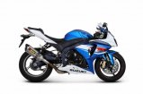 Akrapovic Slip-On Suzuki GSX-R 1000, 2012-2016, Titan / Carbon