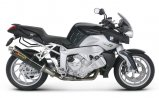 Akrapovic Slip-On BMW K 1200 R, 2005-2006, Carbon