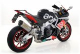 Arrow Race-Tech Aprilia RSV4 RR / RF, 2015-2016, Carbon / Titan