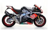 Arrow Race-Tech Aprilia RSV4 RR / RF , 2015-2016, Alu / Alu Dark